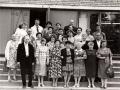 """В 1985 году в кафе """"Воря"""" состоялась юбилейная встреча выпускников 1955 года выпуска с некоторыми своими учителями."""
