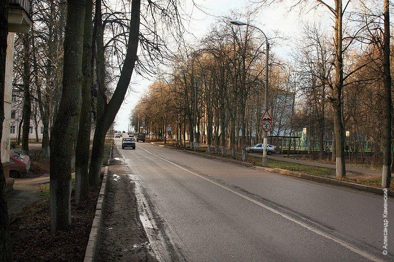 Проспект Ленина, декабрь 2006 года