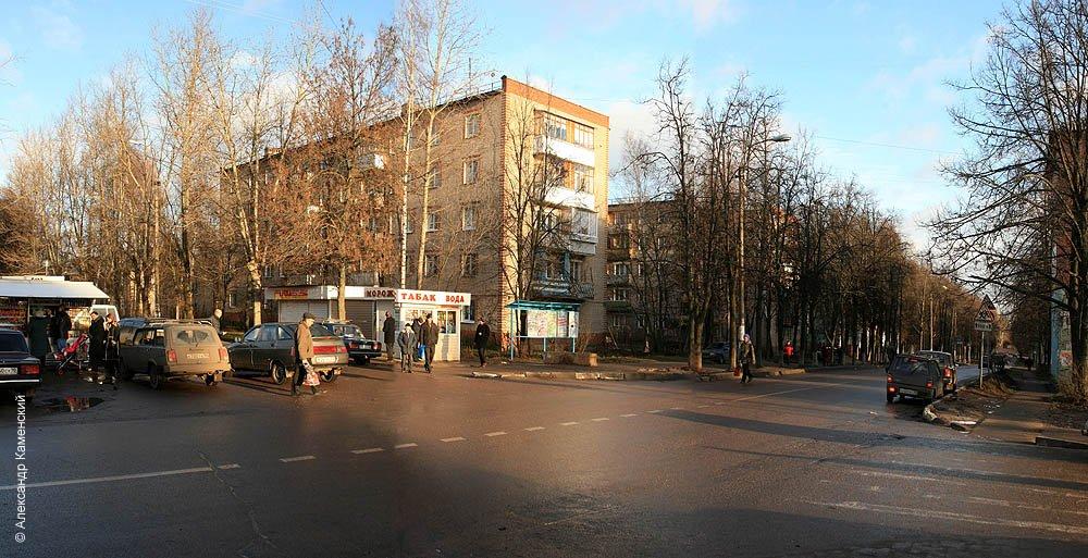 Перекресток улиц Ленина и Пионерская, 2006 год