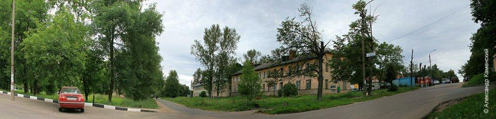 Вид на проспект Ленина, май 2006 года