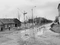 Перекресток улиц Ленина и Пионерская, идет строительство дома №6, 1960-е годы