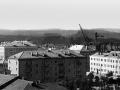 Вид на проспект Ленина 1950-е годы
