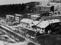 Строительство в 1938 году первых каменных зданий в северной части Красноармейска