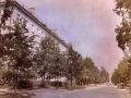Вид на Комсомольскую улицу от Спортивной, 1980-е годы