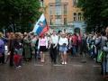Шествие выпускников по Комсомольской улице, 2005 год