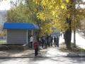 Осень на Комсомольской, площадь перед домом №12, октябрь 2005 года