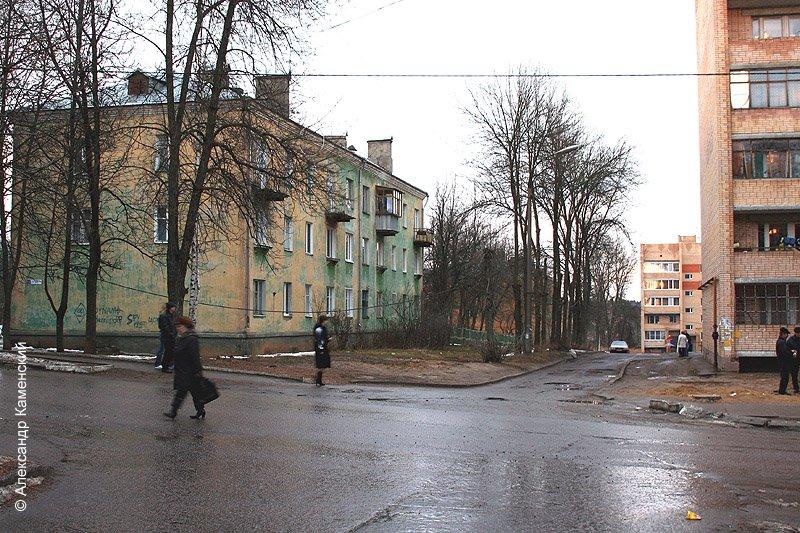 Перекресток Спортивной и Комсомольской, 2006 год