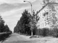 Улица Спортивная, вид от Центральной улицы, 1970-е годы