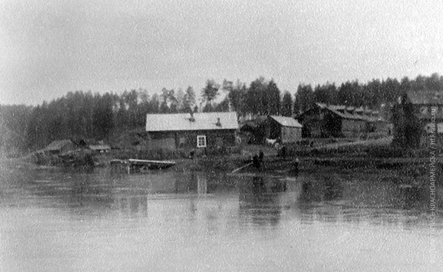 Дома-бараки на Бережной улице, 1930-е годы