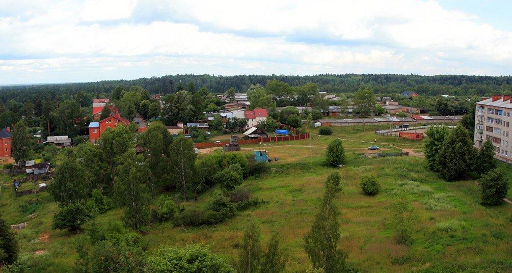 Вид на финский поселок, 2008 год