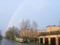 Улица Дачная, радуга, 2005 год