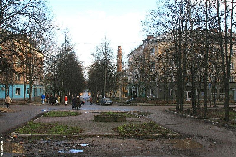 Перекресток улиц Горького и Комсомольской, 2006 год