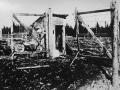 Вид на въездные ворота Софринского полигона, 1930-е годы