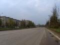 Проспект Испытателей в Красноармейске (бывшая Восточная улица), 2003 год