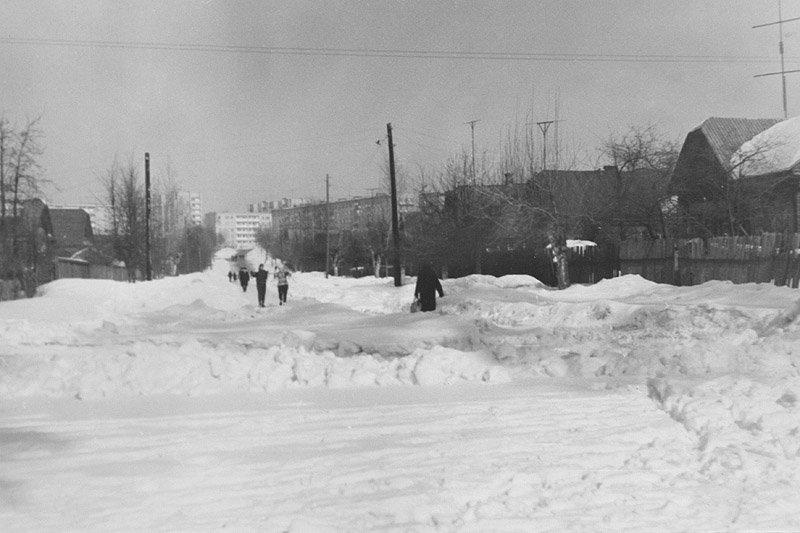Начало Улицы Октябрьской, 70-е годы