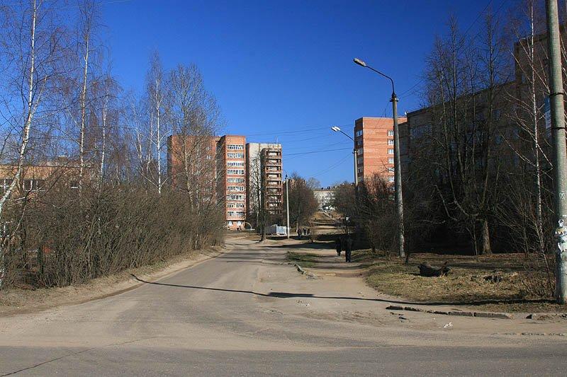 Микрорайон Северный, здесь проходила улица Октябрьская, 2007 год