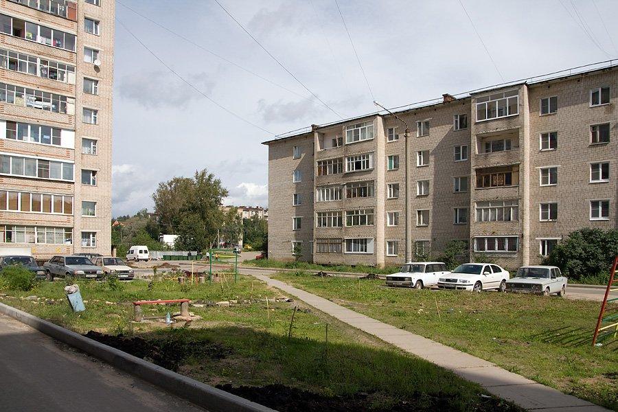 Дома №1Б и №5 в микрорайоне Северном, 2007 год