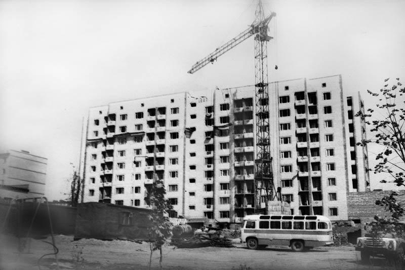 Строительство дома №35, 1980-е годы