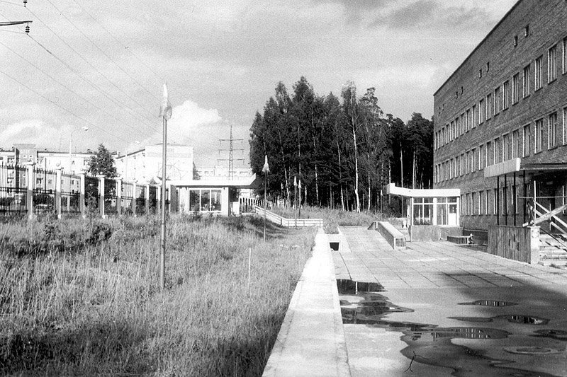 МедСанЧасть в Красноармейске, конец 80-х годов