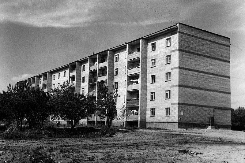 Микрорайон Северный, дом №16, 1980-е годы