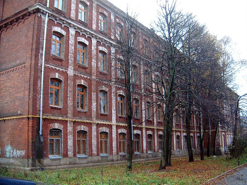 Егорьевская (Георгиевская) казарма, 2004 год