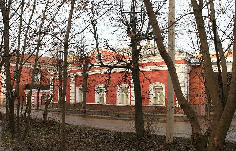 Здание конторы фабрики, Красноармейск, 2007 год.
