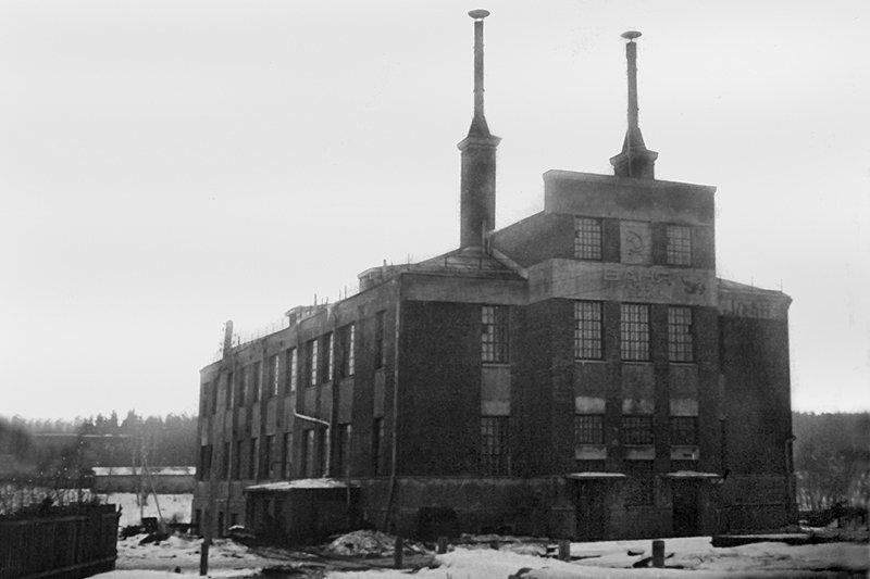 Баня и прачечная фабрики КРАФ, 1940-е годы