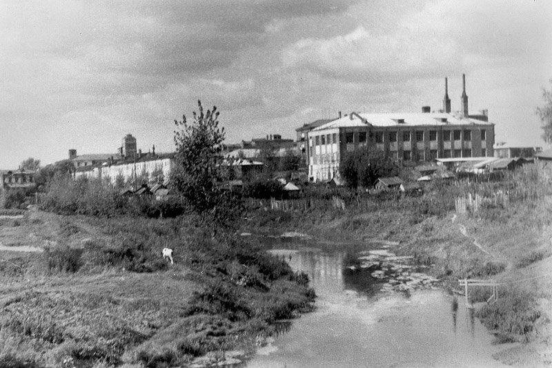 Вид на улицу Свердлова, 1980-е годы