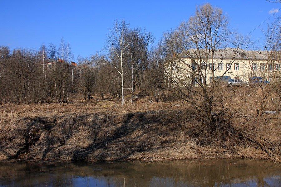 Вид на улицу Свердлова и дома №18 и 29, 2008 год