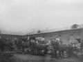 Конный двор фабрики, начало XX века