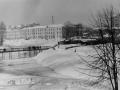 Казармы фабрики КРАФ (Вознесенской мануфактуры) и река Воря, 1980-е годы