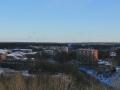 Панорама фабричных зданий с высокого берега Вори около Краснофлотской, 2009 год