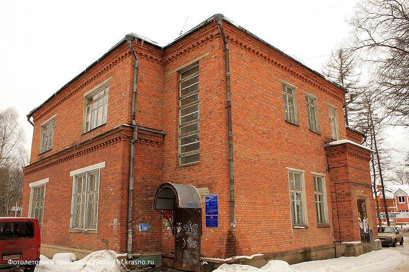 Здание МП ЖКХ (бывший Родильный дом), декабрь 2007 года.