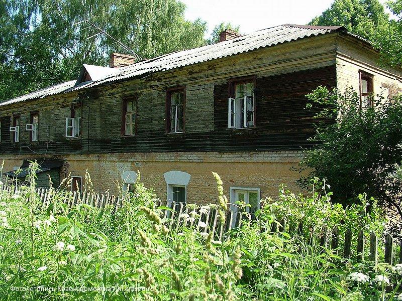 Дом №21 по улице Чкалова снесен в 2007 году, Июнь 2005 года