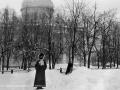 Вознесенский храм находился на улице Чкалова на месте детского сада (дом №11), снимок XIX века