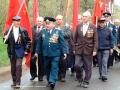 Шествие ветеранов у Московских ворот, 9 мая 2004 года