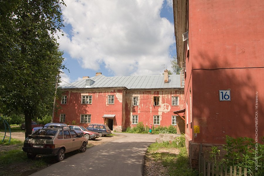 Дом №16 по Краснофлотской улице, 2006 год