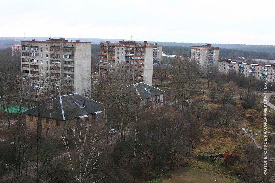 Панорама Краснофлотской улицы, 2006 год