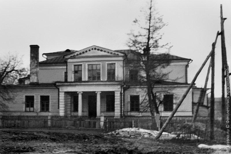 Фасад дома Миндера, 1960-е годы