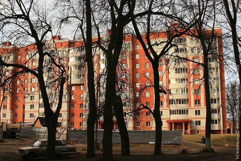 Высотный жилой комплекс на месте Дома Миндера, 2007 год