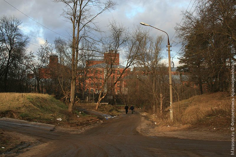 Спуск от улицы Чкалова к Плотине, 2006 год