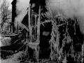 В ночь с 29 на 30 января 1996 года уникальный памятник деревянного зодчества сгорел дотла, Дом Миндера перестал существовать.