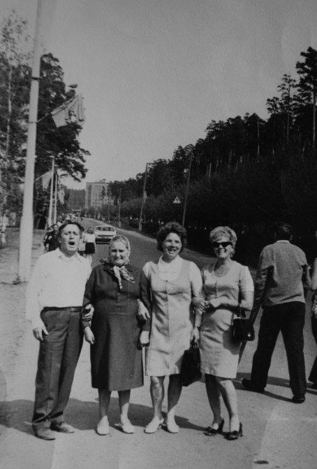 Горожане около площади Победы, 1970-е годы