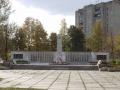 Памятник павшим войнам в Красноармейске, 2002 год