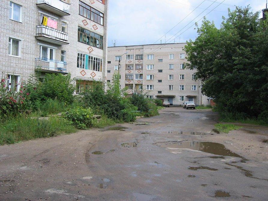 Пятиэтажки Новой жизни из 80-х, 2003 год