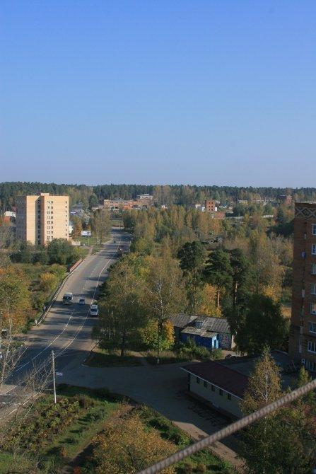 Панорама города от улицы Новая жизнь, 2007 год