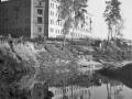 Вид с реки Вори на дом № 12, 1940-е годы