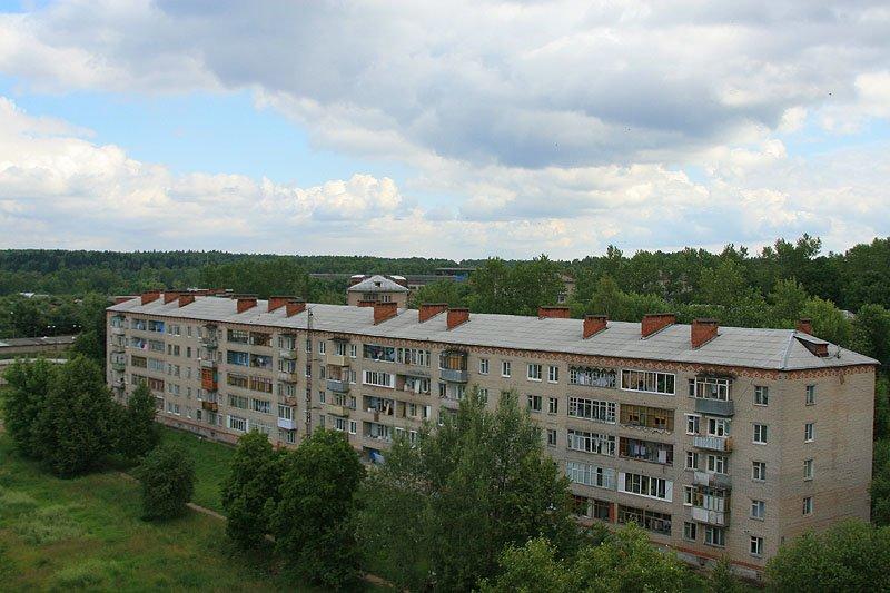 Дома на улице Гагарина, 2008 год