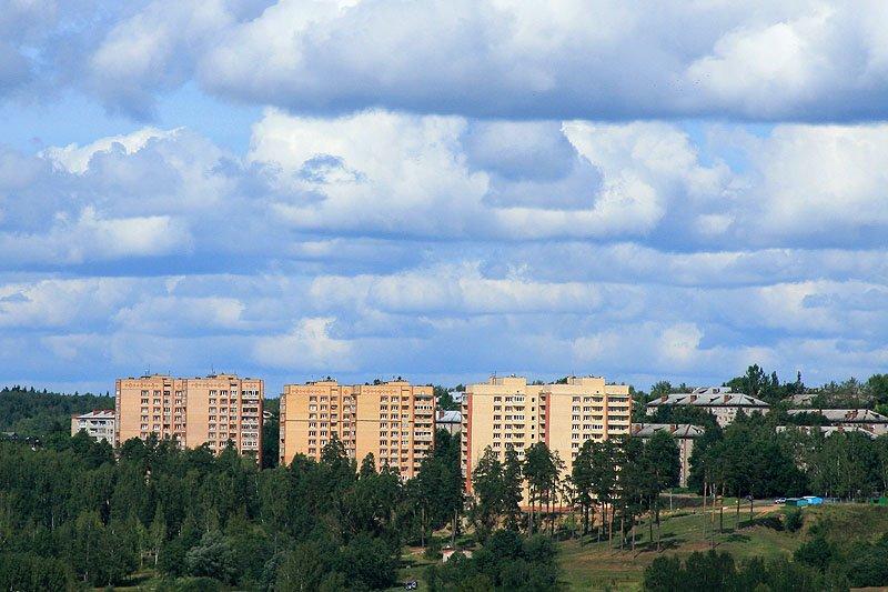 Панорама улицы Гагарина, 2007 год