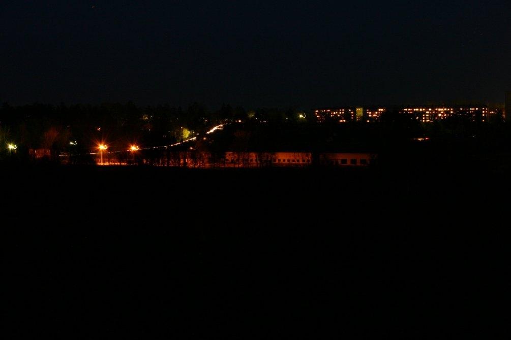 Панорама северной части города, октябрь 2004 года